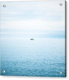 Fishing Boat  Acrylic Print by Tetyana Kokhanets