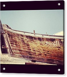 Boat Acrylic Print by Maeve O Connell