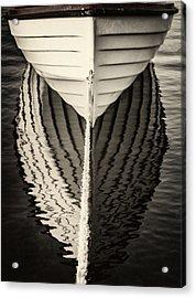 Boat Mirrored Acrylic Print