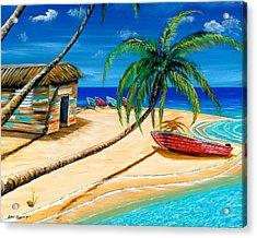 Boat Rent Acrylic Print