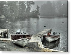 Boat Rental Acrylic Print
