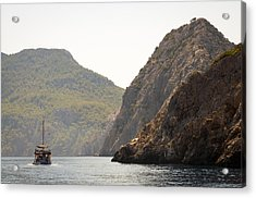 Acrylic Print featuring the photograph Boat Trip by David Isaacson