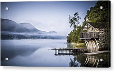 Boathouse At Pooley Bridge Acrylic Print