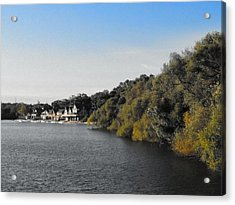 Acrylic Print featuring the photograph Boathouse II by Photographic Arts And Design Studio