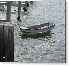 Boats And More Boats 3 Acrylic Print by Cathy Lindsey