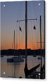 Acrylic Print featuring the photograph Boats At Beaufort by Bob Pardue