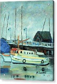 Boats At Provincetown Ma Acrylic Print
