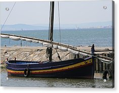 Boat At St Marie Acrylic Print