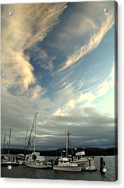 Boats In The Breeze Acrylic Print