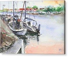 Boats Inshore Acrylic Print
