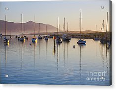 Boats Mooring Acrylic Print