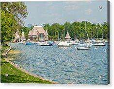 Boats Of Lake Harriet Acrylic Print