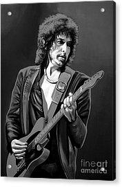 Bob Dylan Acrylic Print by Meijering Manupix