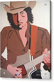 Bob Dylan - Celebrities Acrylic Print