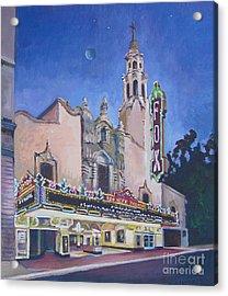 Bob Hope Theatre Acrylic Print by Vanessa Hadady BFA MA