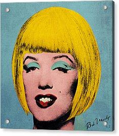 Bob Marilyn  Acrylic Print by Filippo B
