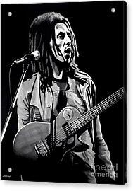 Bob Marley Tuff Gong Acrylic Print