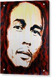 Bob Marley Reggae Icon Acrylic Print