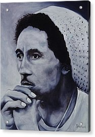 Bob Marley Acrylic Print by Stefon Marc Brown