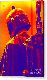 Boba Fett Costume 2 Acrylic Print by Micah May