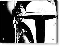 Boba Fett Helmet 2 Acrylic Print by Micah May