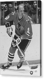 Bobby Hull Poster Acrylic Print by Gianfranco Weiss