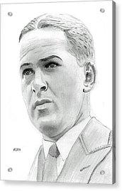 Bobby Jones Acrylic Print by Pat Moore