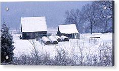 Bobby's Barn Acrylic Print by Garry McMichael