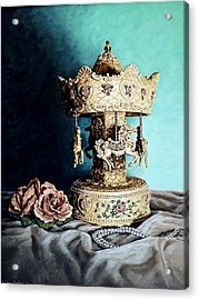 Bobby's Carousel Acrylic Print