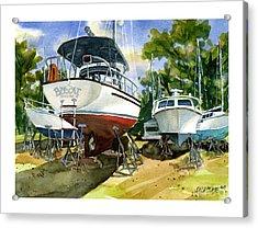 Bobcat Sail Acrylic Print