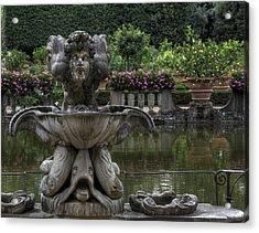 Boboli Fountain Acrylic Print