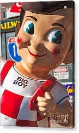 Bob's Big Boy Acrylic Print