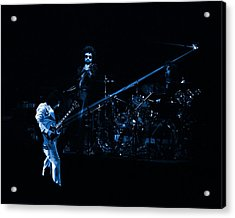 Boc #4 Lasers In Blue Acrylic Print