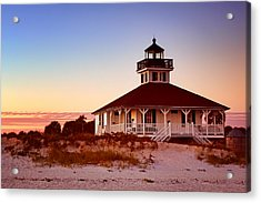 Boca Grande Lighthouse - Florida Acrylic Print by Nikolyn McDonald
