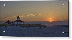 Boca Grande Lighthouse Sunrise Acrylic Print