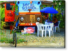 Bocas Blended Acrylic Print by Kris Hiemstra