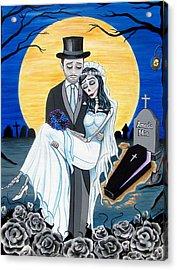 Boda Negra Enterrador Acrylic Print