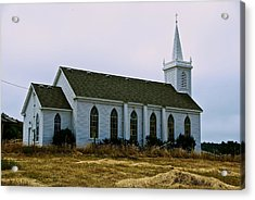 Bodega Church Acrylic Print by Eric Tressler