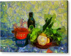 Bodegon Acrylic Print