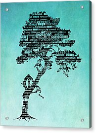 Bodhi Tree Of Awareness Acrylic Print
