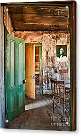 Bodie Doors Acrylic Print