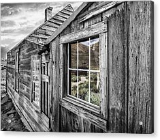 Bodie Gold Mining Ghost Town Acrylic Print