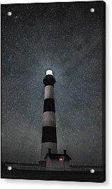 Bodie Island Light Midnight Acrylic Print