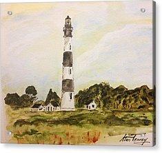Bodie Island Light Acrylic Print by Stan Tenney