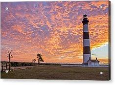 Bodie Island Lighthouse At Sunrise Acrylic Print