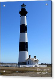 Bodie Island Lighthouse Acrylic Print by Lesley Giles