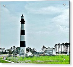 Bodie Island Lighthouse - Outer Banks North Carolina Acrylic Print by Kim Bemis