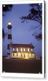 Bodie Light Just After Dark Acrylic Print by Mike McGlothlen