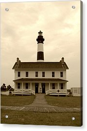 Acrylic Print featuring the photograph Bodie Light  by Kelly Nowak