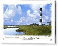Bodie Light  S P Acrylic Print by Mike McGlothlen